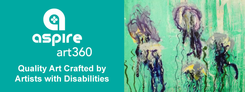 Aspire Art360 Quality Art Crafted by Artists with Disabilities